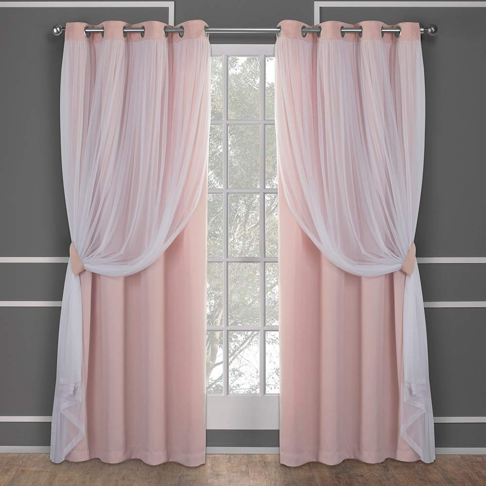 2-Pieces Home Curtains by Exclusive Home Curtains