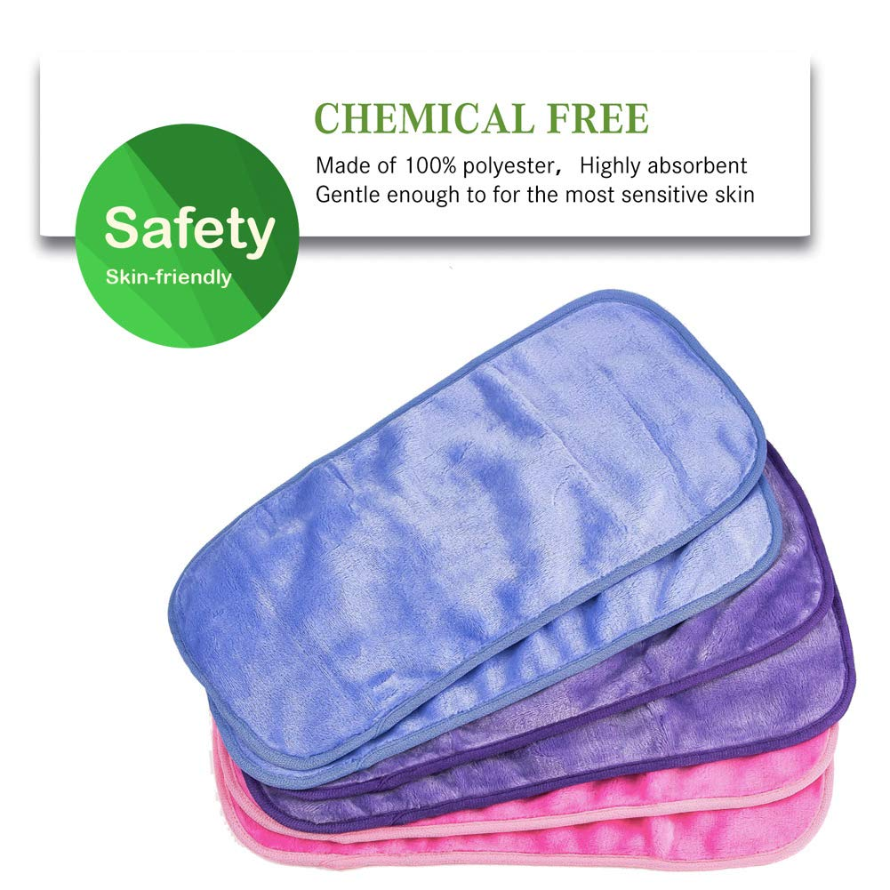 6 Pack Makeup Remover Cloth by Natwag