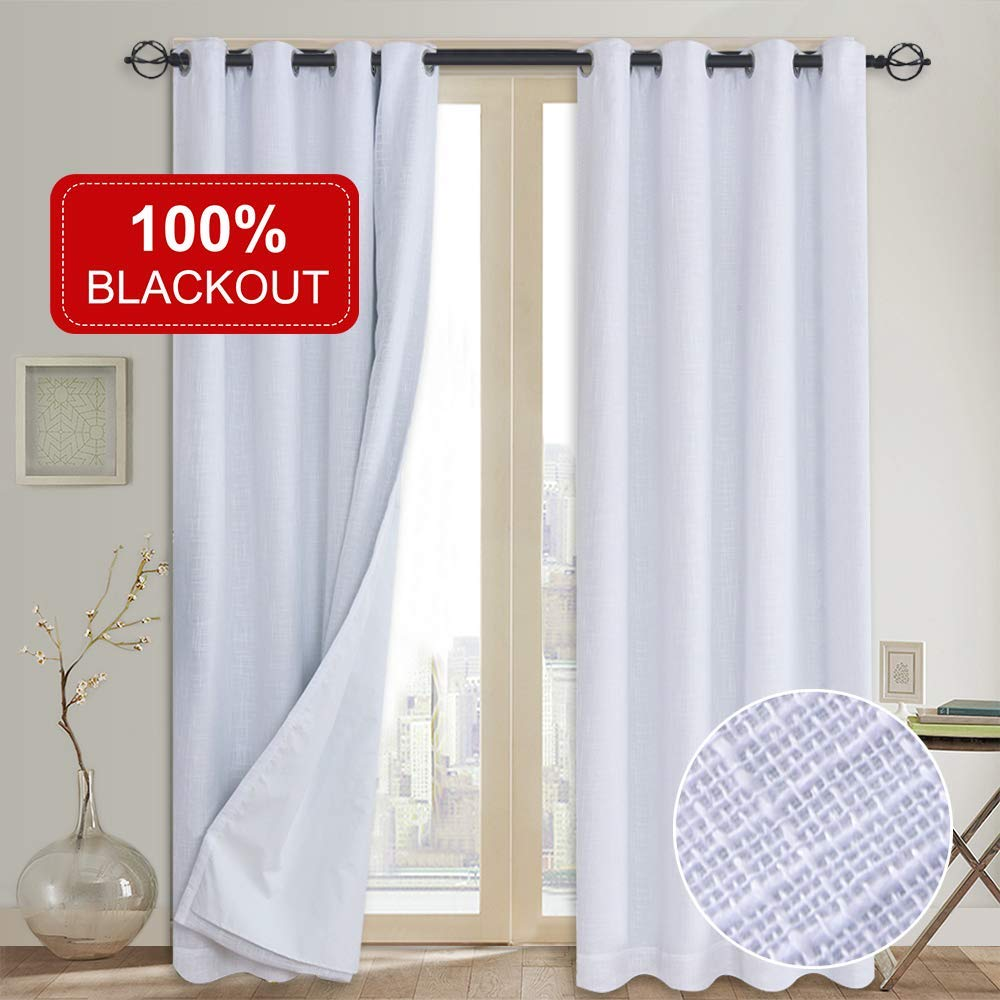 Blackout Curtains 2-Panel by Rose Home Fashion