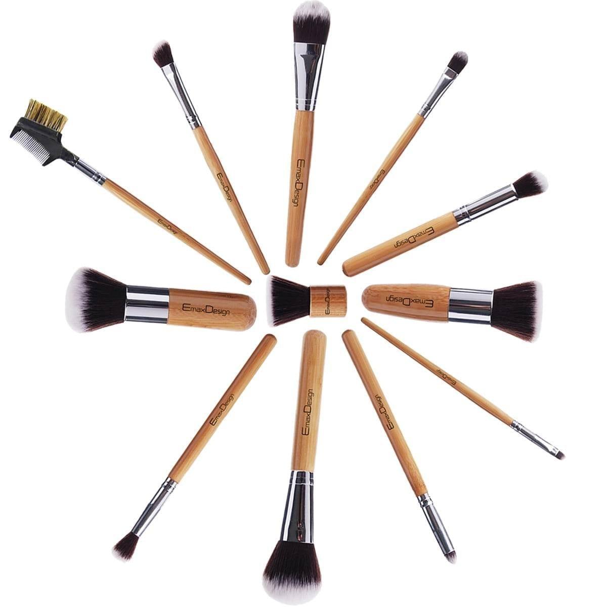 EmaxDesign Professional Makeup Brush Set
