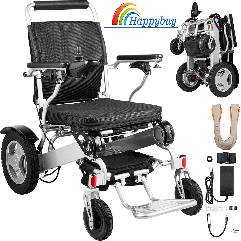Happybuy Folding Power Wheelchair