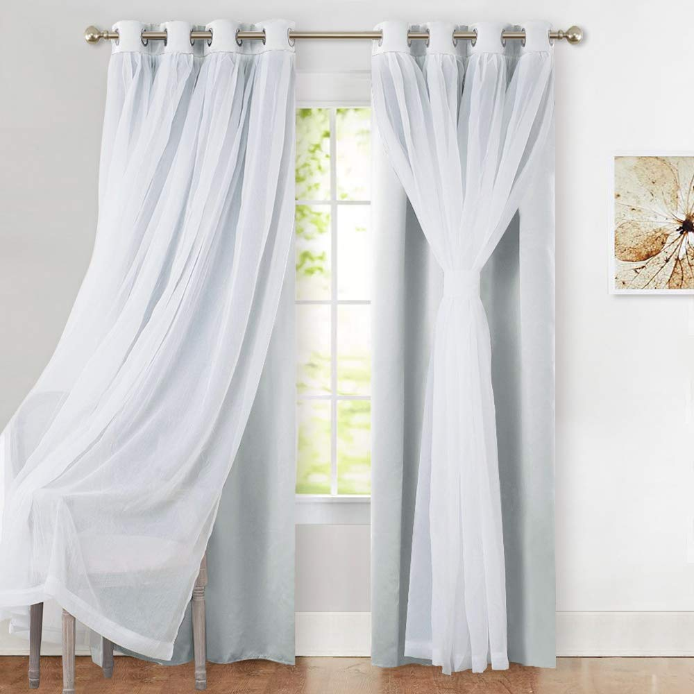 Pony Dance 2-Curtains with Double-layer light shut panels