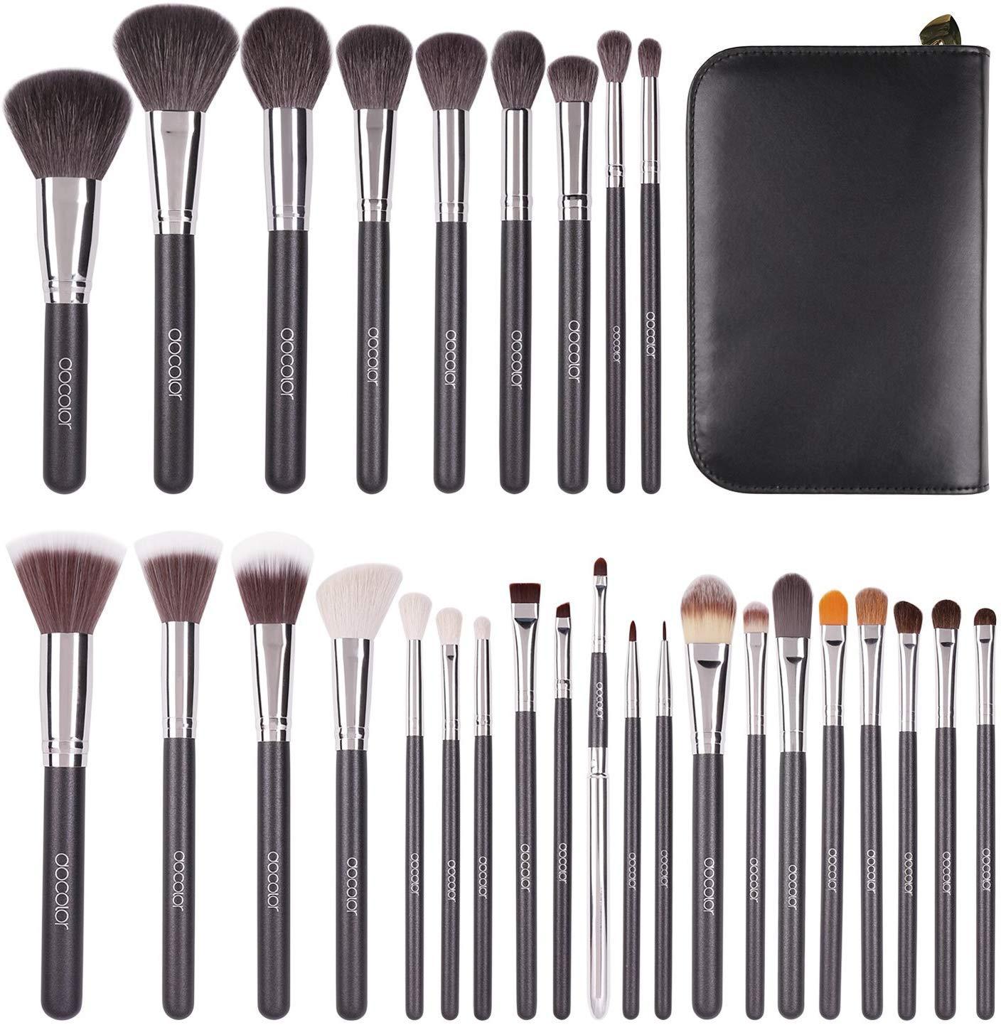 Professional Makeup Brush Set by Docolor