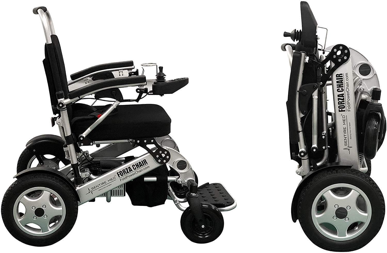 Sentire Med Forza Dual Motor Wheelchair