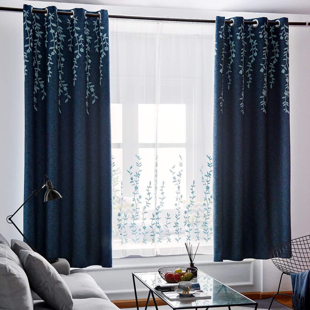 Tinysun Double-Layer Window Curtains