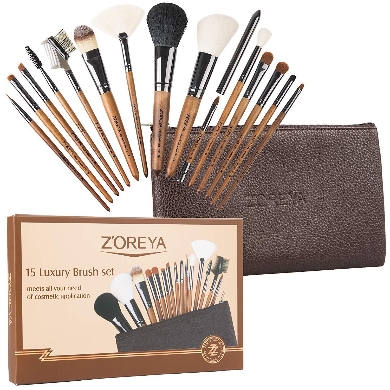 Zoreya Professional Makeup Brush Set