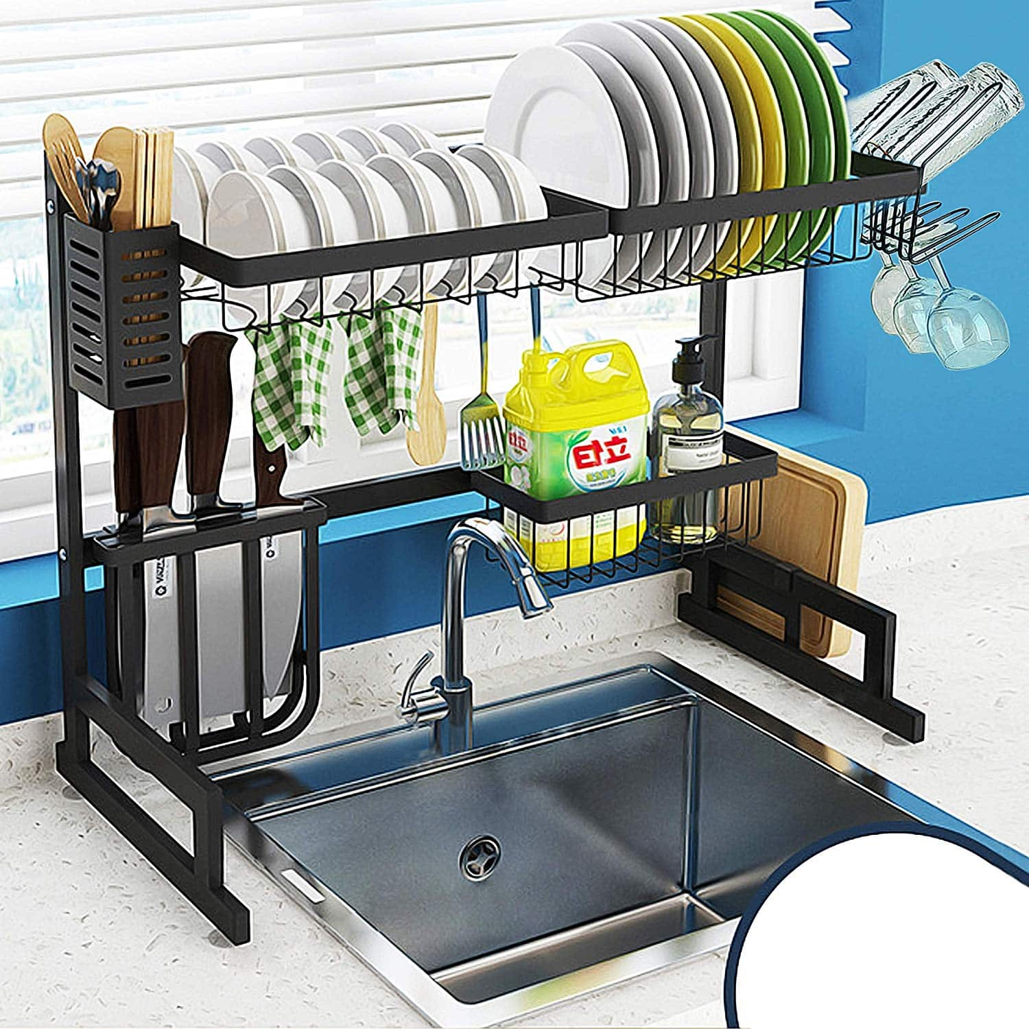 AKOZLIN Draining Kitchen Rack