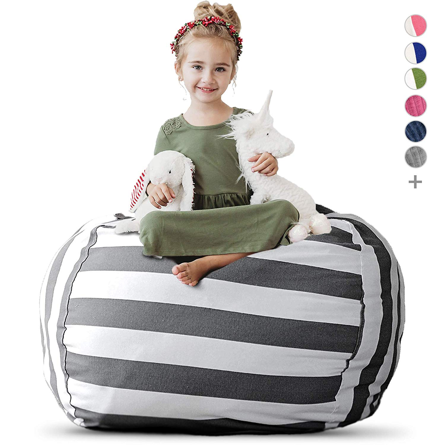 Creatively Stuffed Animal Bean Bag Chair
