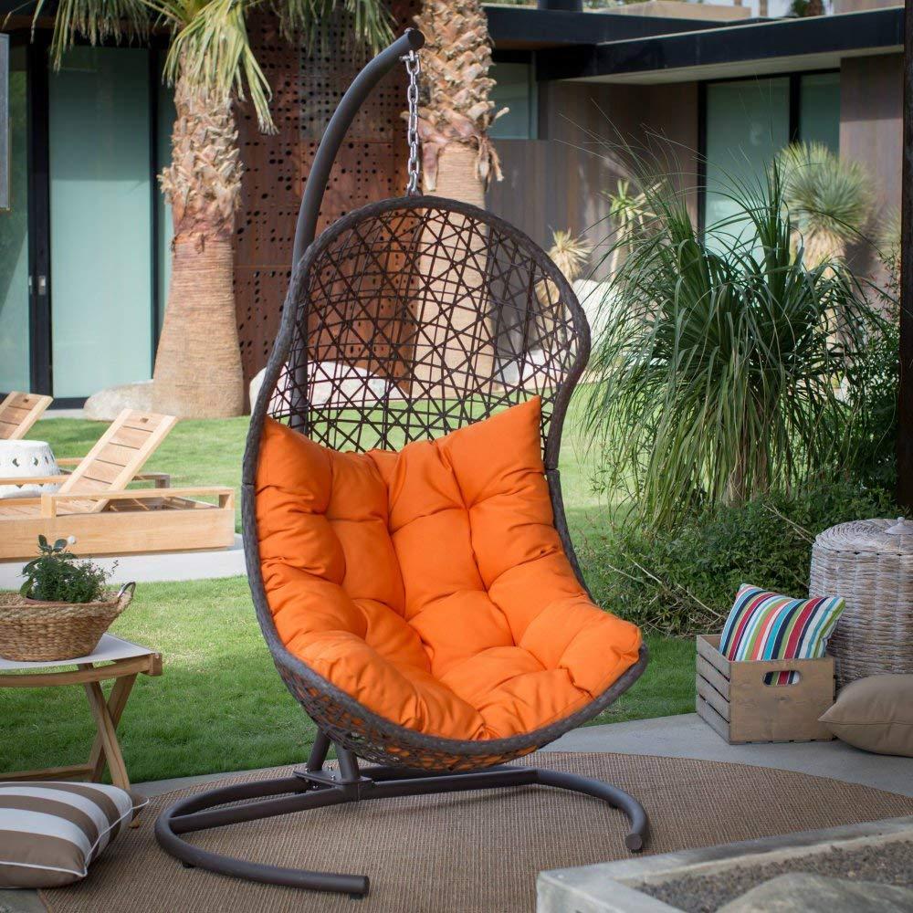 Island Bay Swing Chair With Cushions