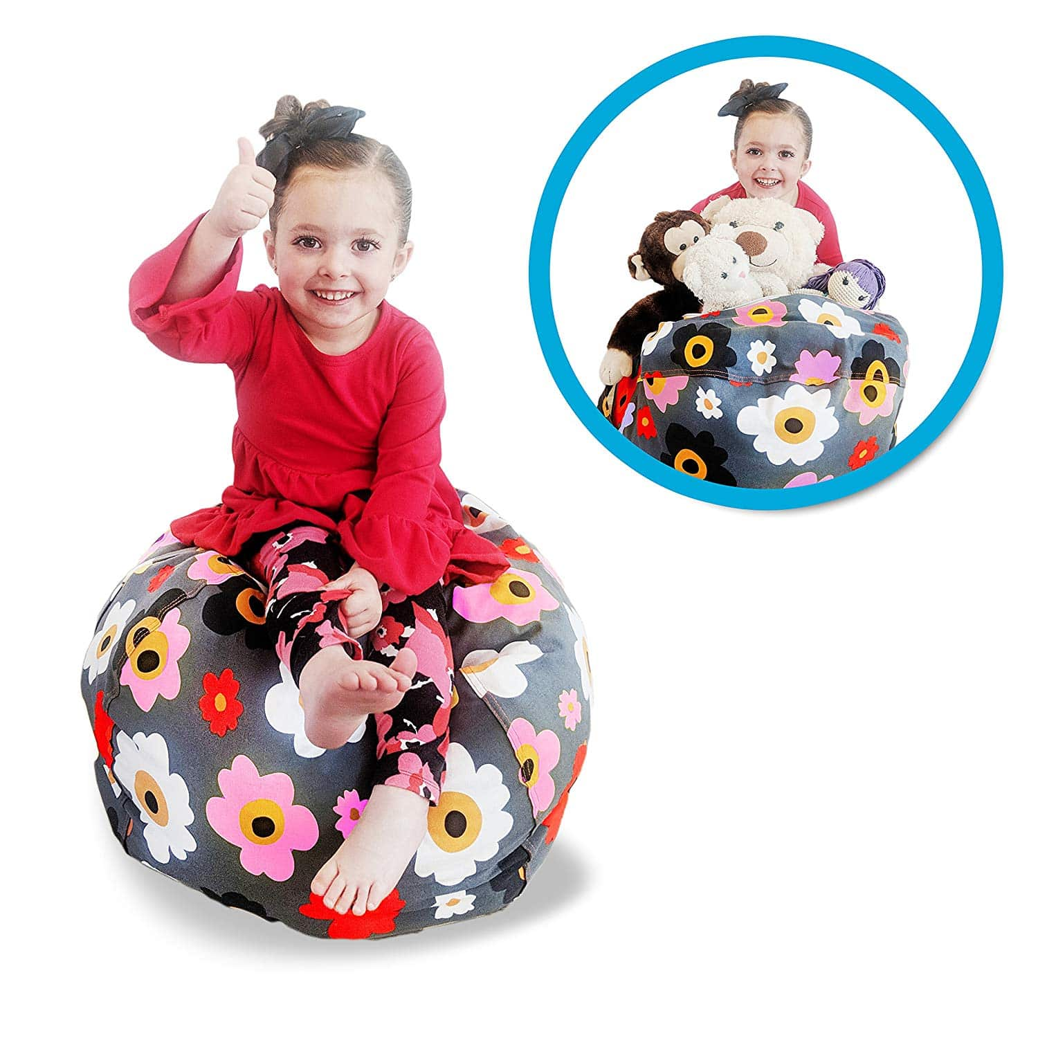 Soothing Company Animal stuffed Kids Bean Bag Chair