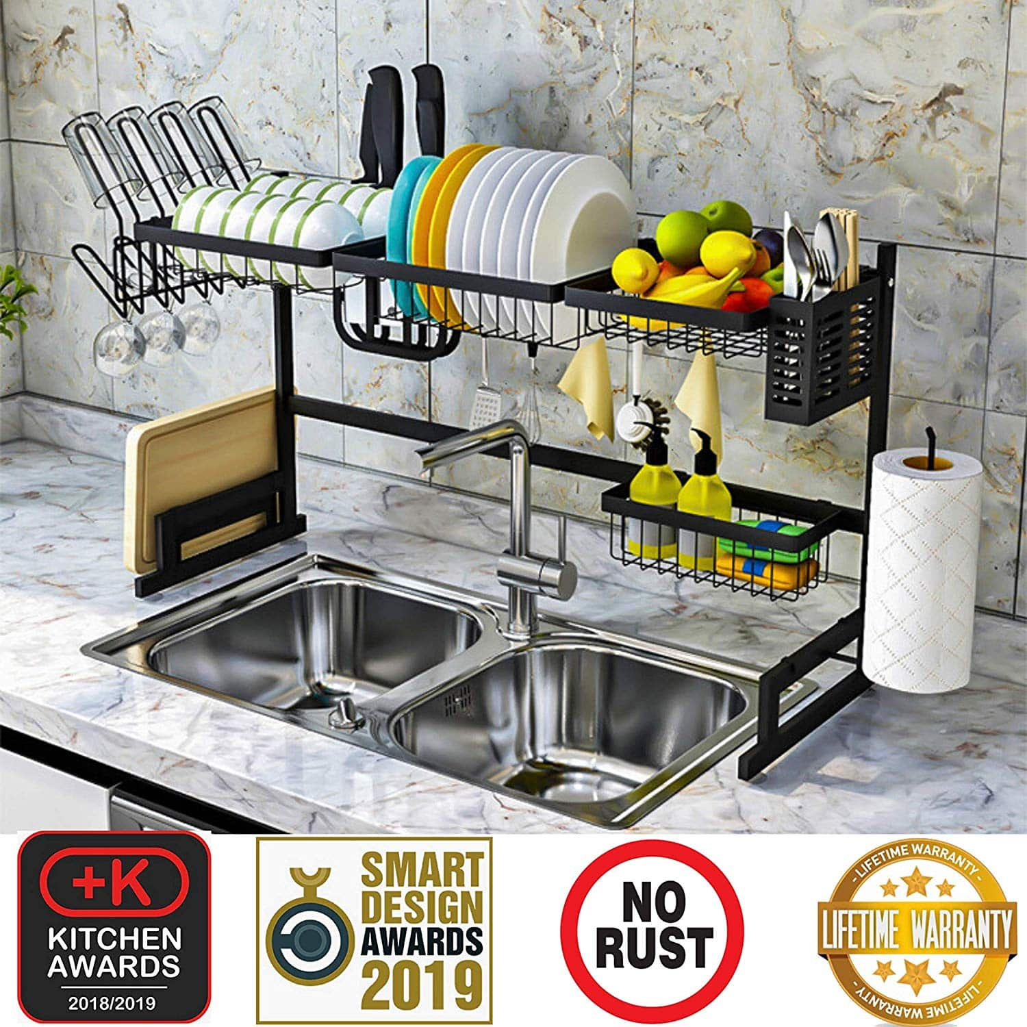 Topkitch Dish Drying Rack