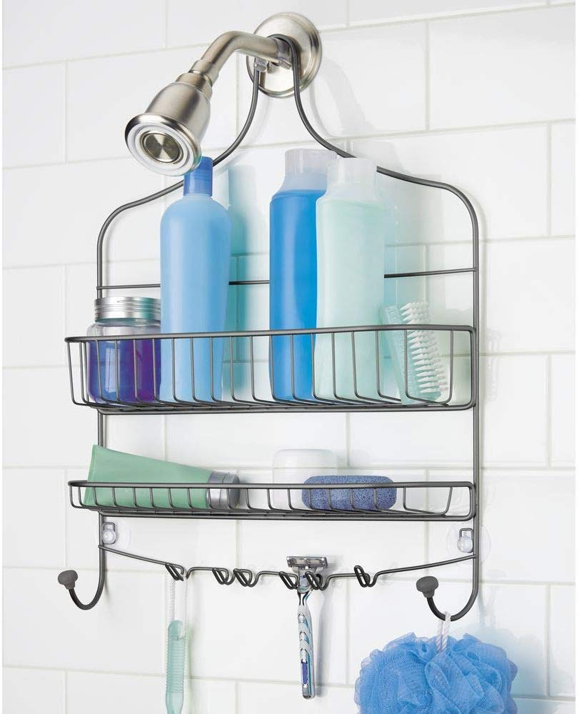 mDesign Bathroom Tub & Shower Caddy