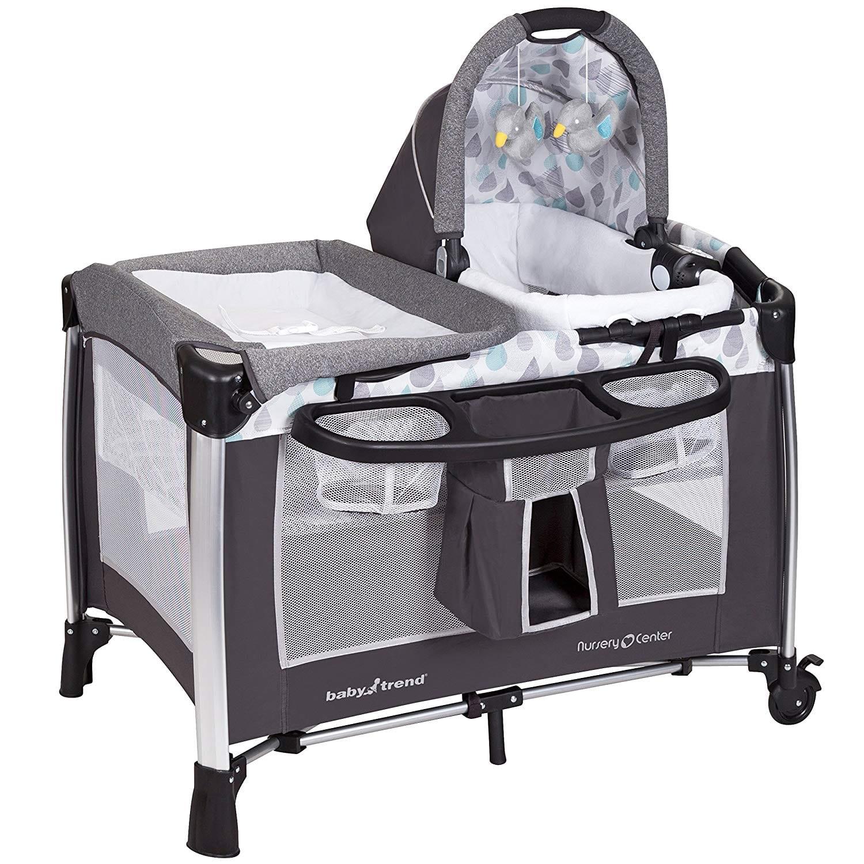 Baby Trend ELX Go Nursery Lite Blue Center