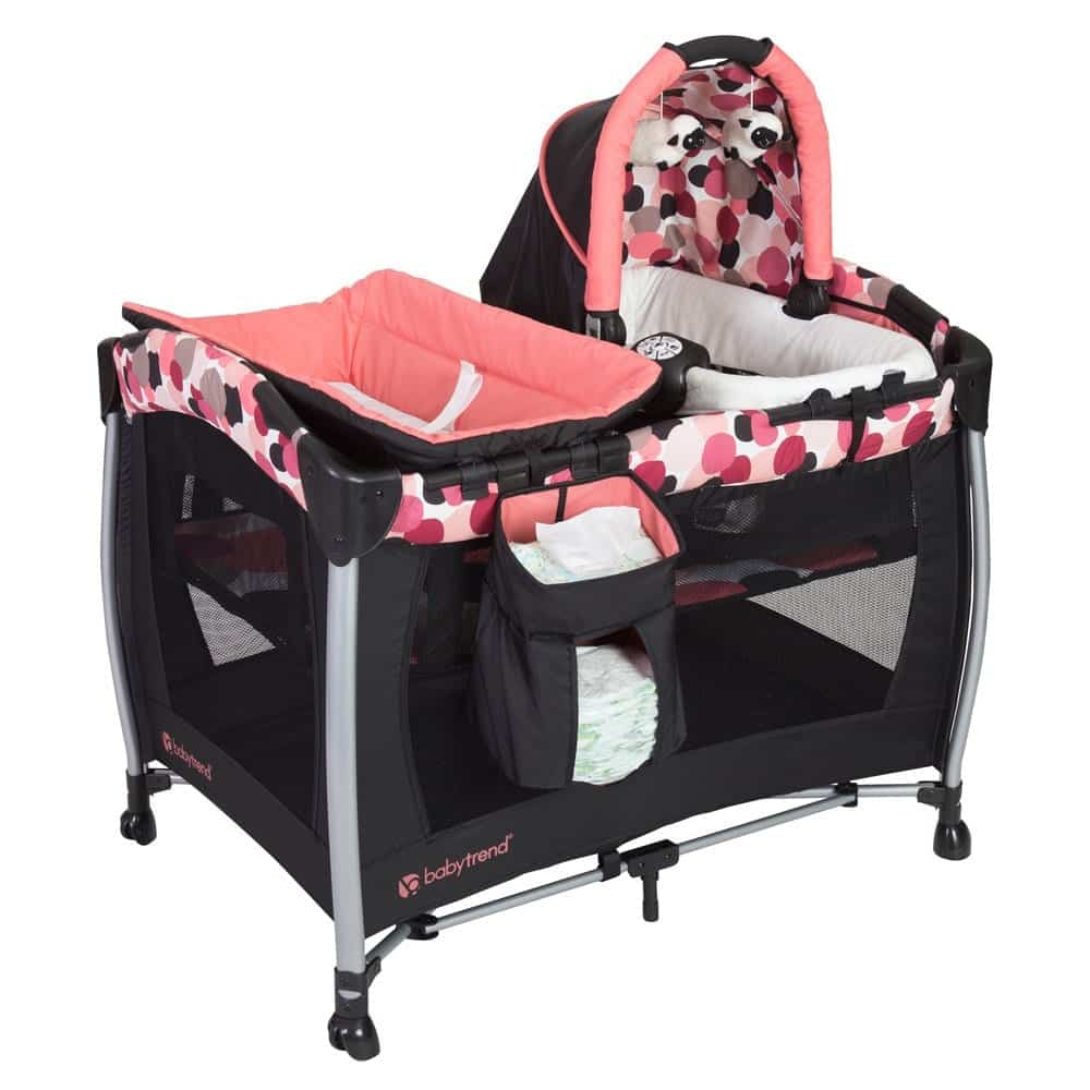 Baby Trend Elite Resort Dotty Center For Nursery