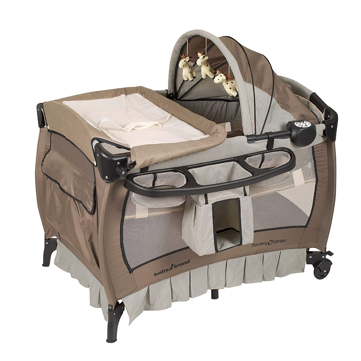 Baby Trend Nursery Deluxe Haven Wood Center