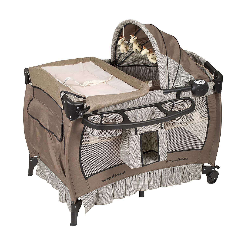 Baby Trend Nursery Deluxe Haven Wood Center
