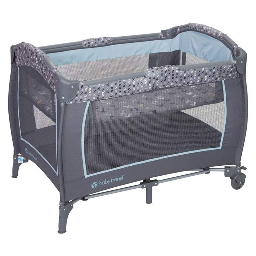 Baby Trend Starlight Blue Nursery Play Center Yard