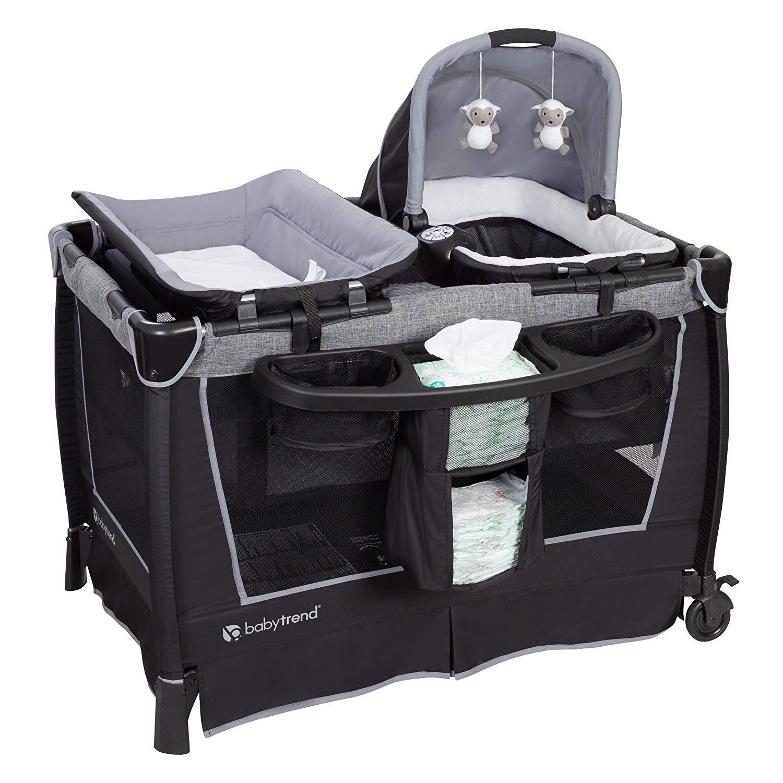 Baby Trend Twins Retreating Nursery Quarry Center