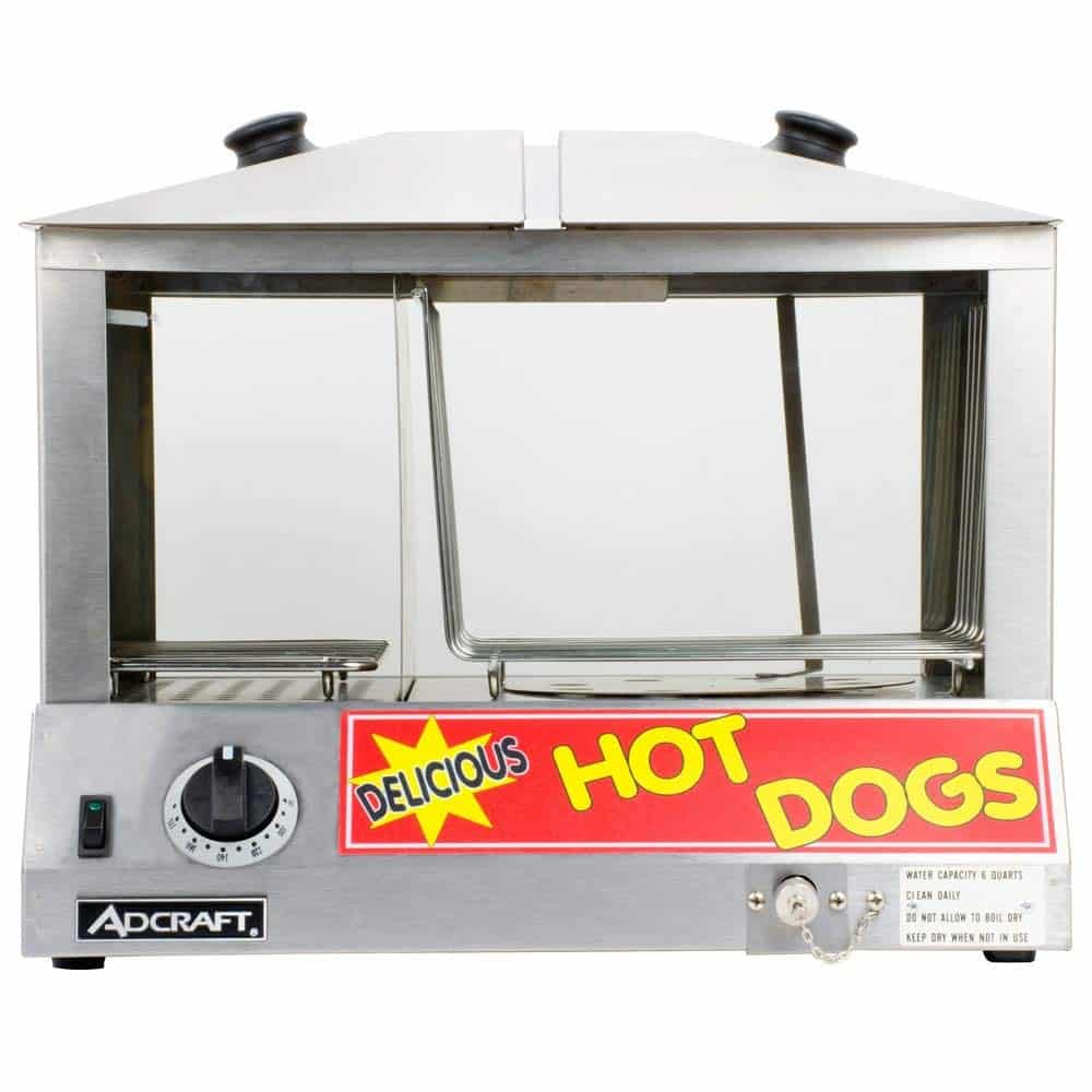 Empura Commercial Steamer For The Hot Dog
