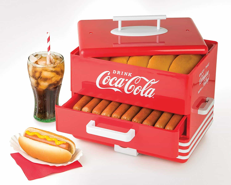 Nostalgia Coca-Cola Large Steamer