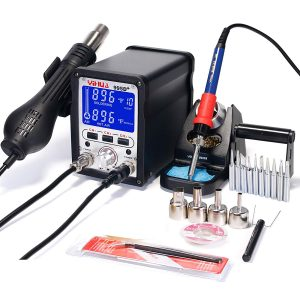 YIHUA 995D+ 2 in 1 Hot Air Rework and Soldering Iron Station