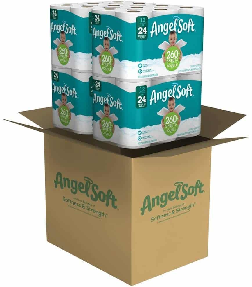 Angel Soft Toilet Paper Bath Tissue
