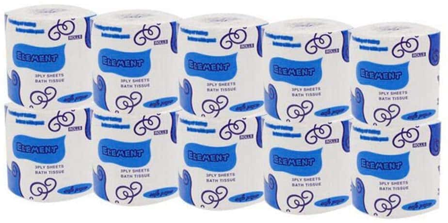 Barlingrock Smooth Silky White Toilet Paper