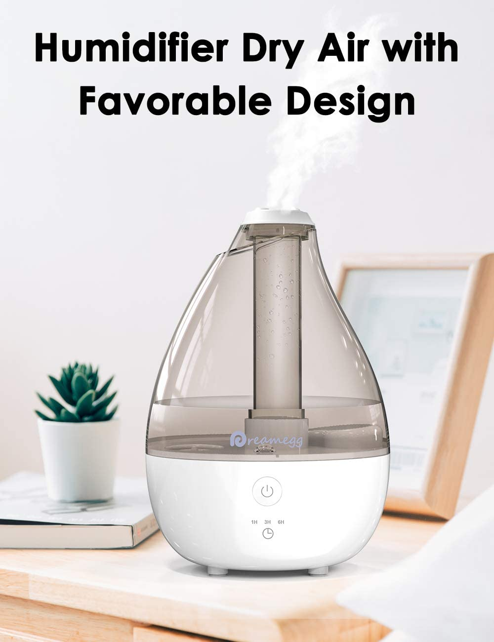 Cool Mist Humidifier by Dreamegg