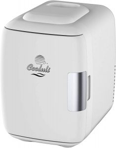 Cooluli 4 Liter Portable Mini Fridge