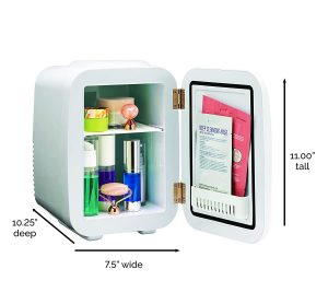 Finishing Touch 4 Liter Flawless Beauty Portable Mini Fridge