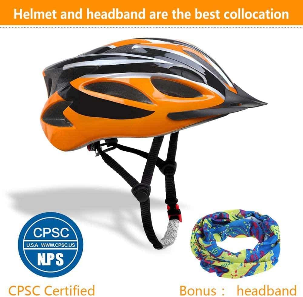 Zacro Bike Helmet with Headband