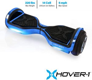Hover-1 Chrome Hoverboard Electric Scooter